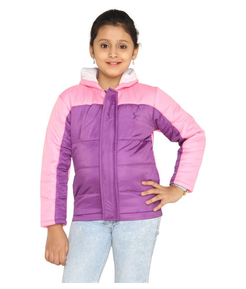 Imagica Girls's Quilted Jacket