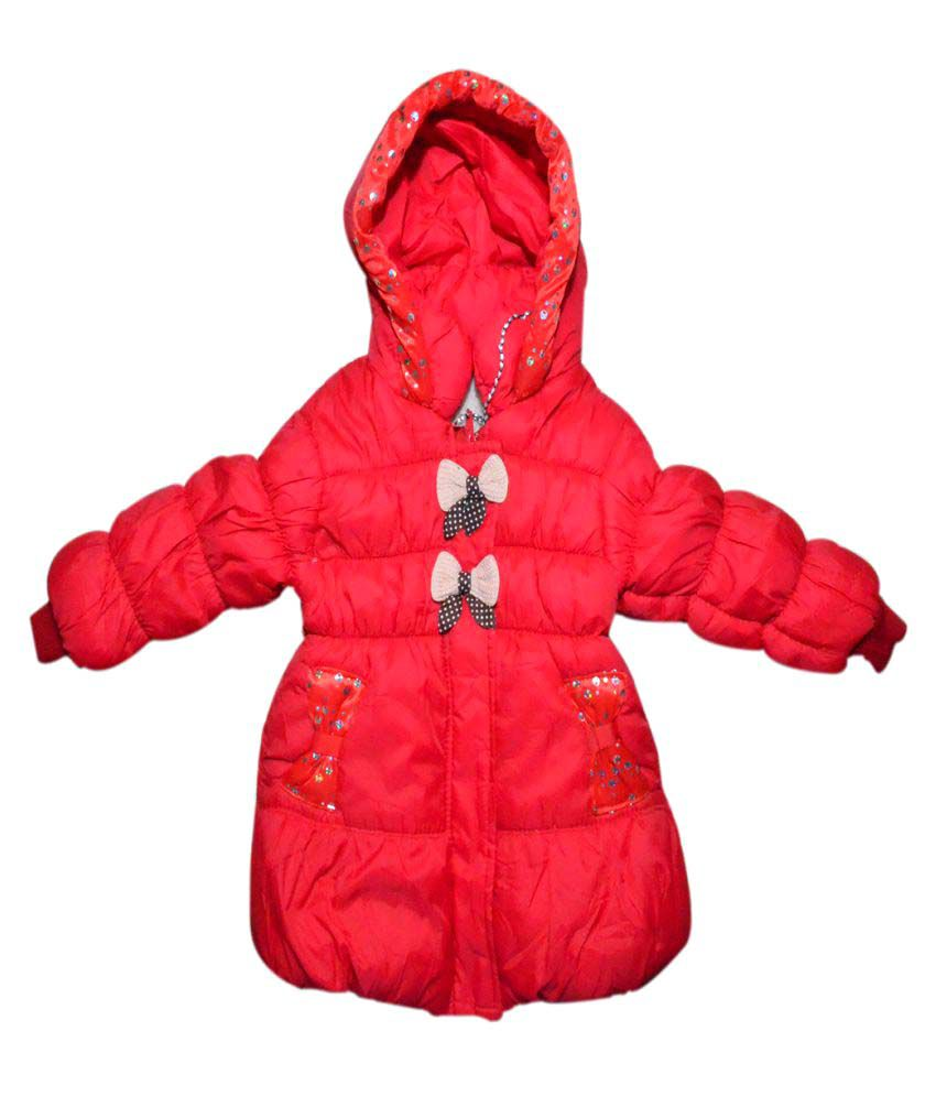 Winter Fuel Red Polyester Jacket