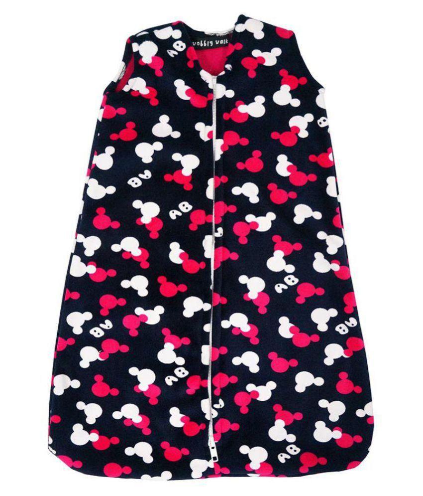 Wobbly Walk Multi-Colour Fleece Sleeping Bags ( 56 cm × 40 cm)