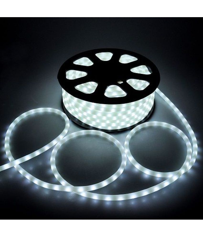newest ad29a 46824 Offbeat 15M White LED Rope Light For Diwali Decoration