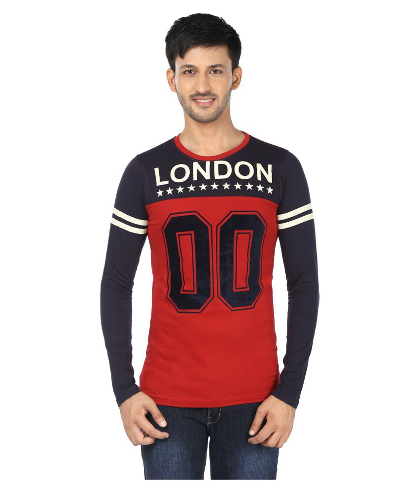 Black Unicorn Multi Round T-Shirt