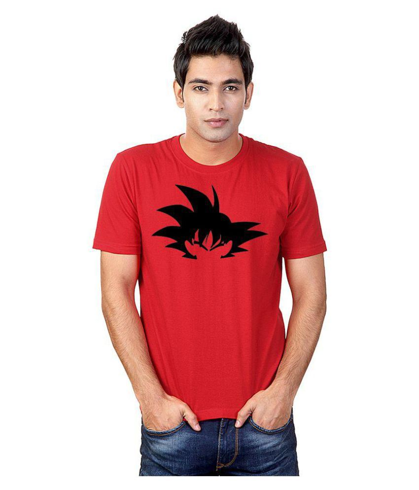 Sharq Red Round T-Shirt