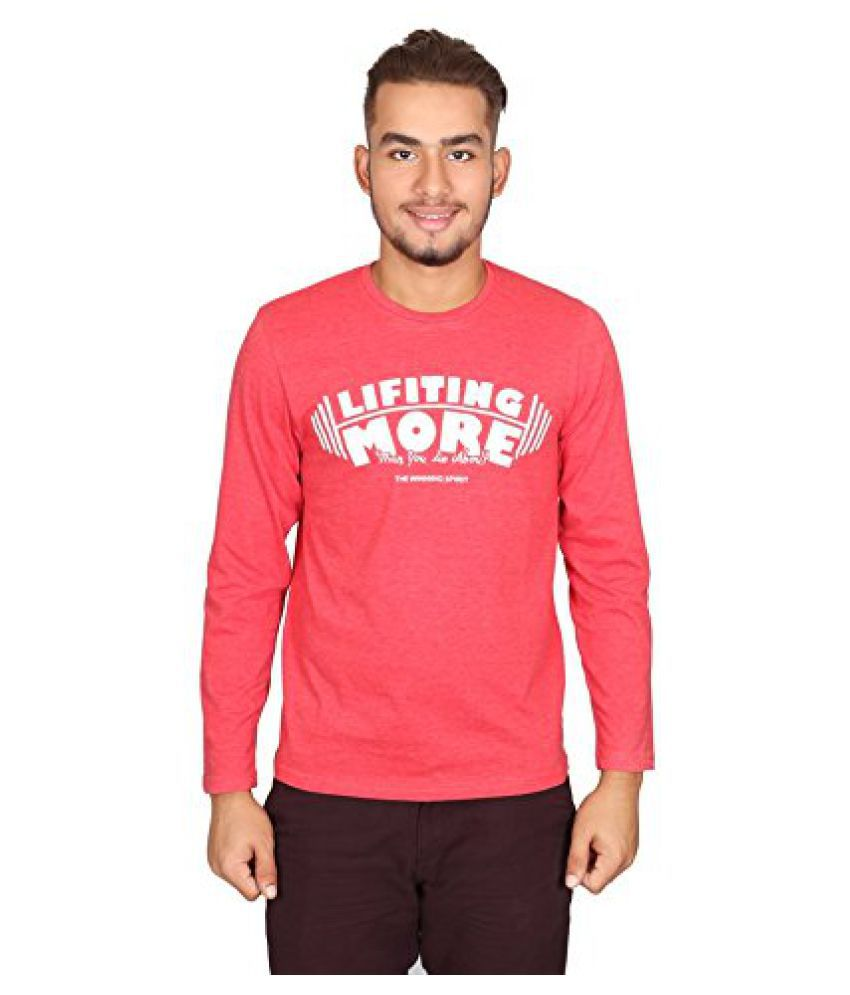 Vector X Red Cotton T shirt