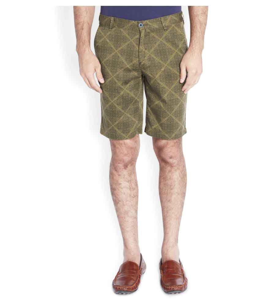 Parx Green Shorts