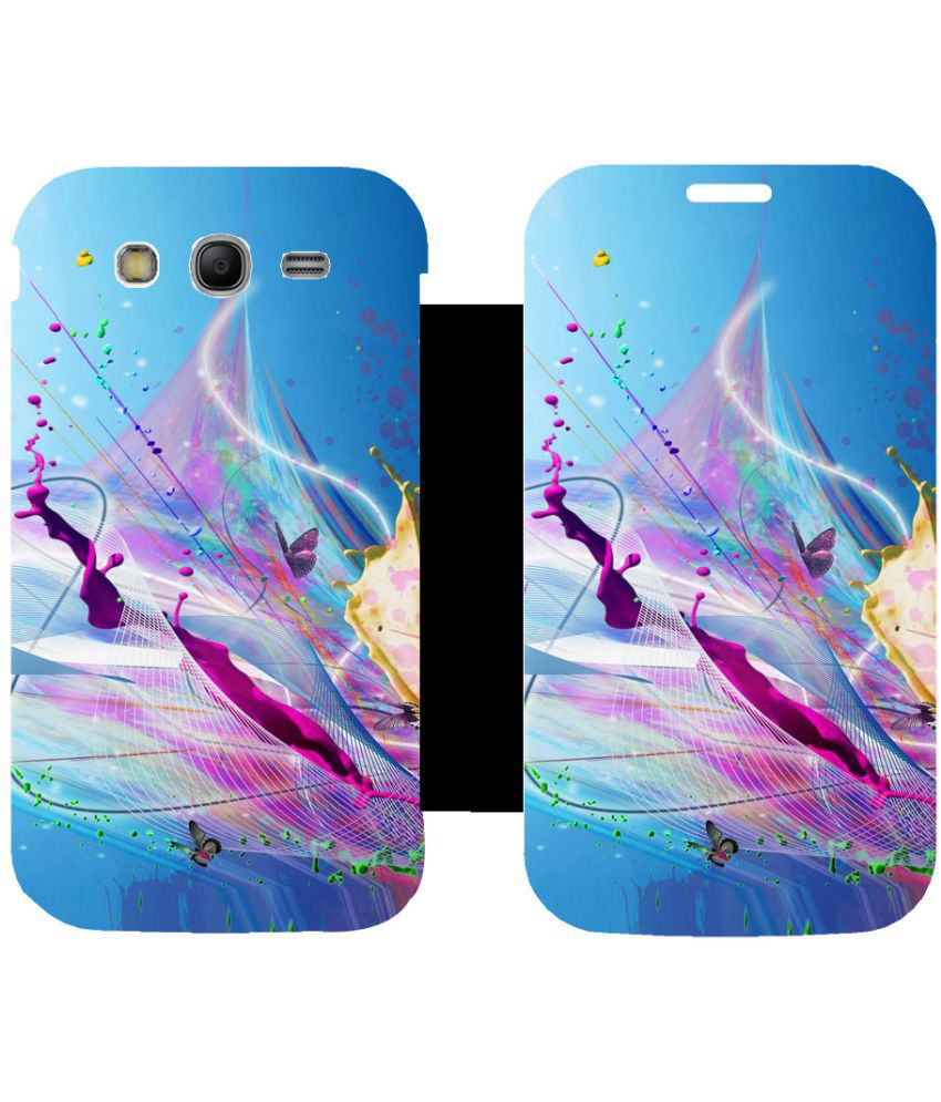 Samsung Galaxy Grand Neo GT Flip Cover by Skintice - Blue
