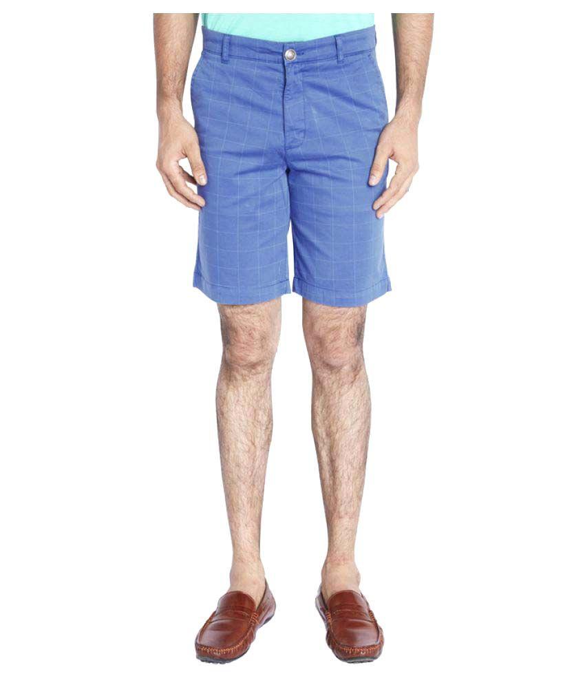 Raymond Blue Shorts