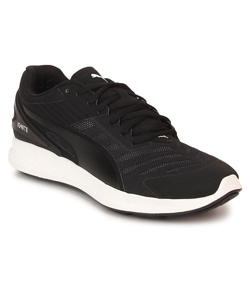 206ef12575e Puma Puma IGNITE v2 Black Running Shoes - Buy Puma Puma IGNITE v2 Black Running  Shoes Online at Best Prices in India on Snapdeal