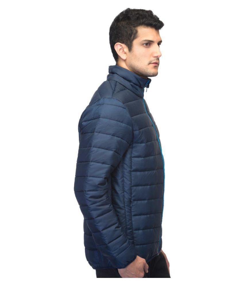 f2d7f66c6 Adidas Blue Quilted & Bomber Jacket - Buy Adidas Blue Quilted ...