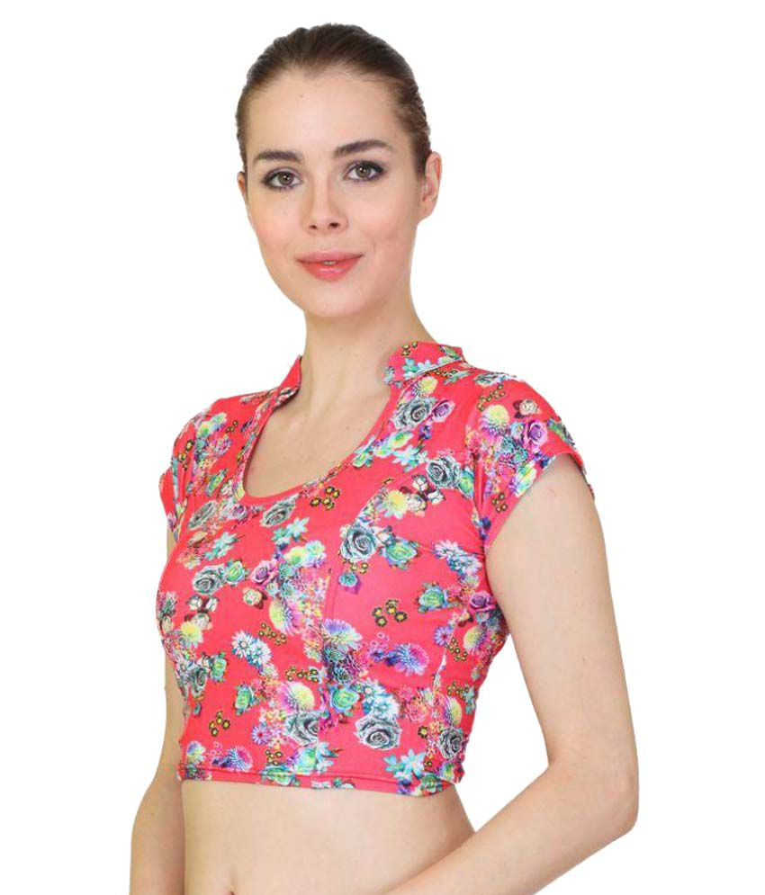 be97c317cc6f9 MSM Multicoloured Blouse - Buy MSM Multicoloured Blouse Online at ...