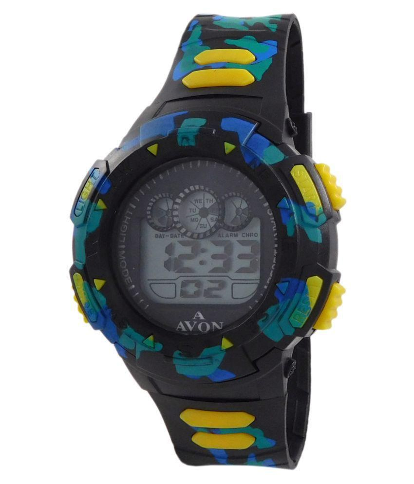 c7ef9110e A Avon Sports Digital Black Dial Watch - 1002792 - Buy A Avon Sports  Digital Black Dial Watch - 1002792 Online at Best Prices in India on  Snapdeal