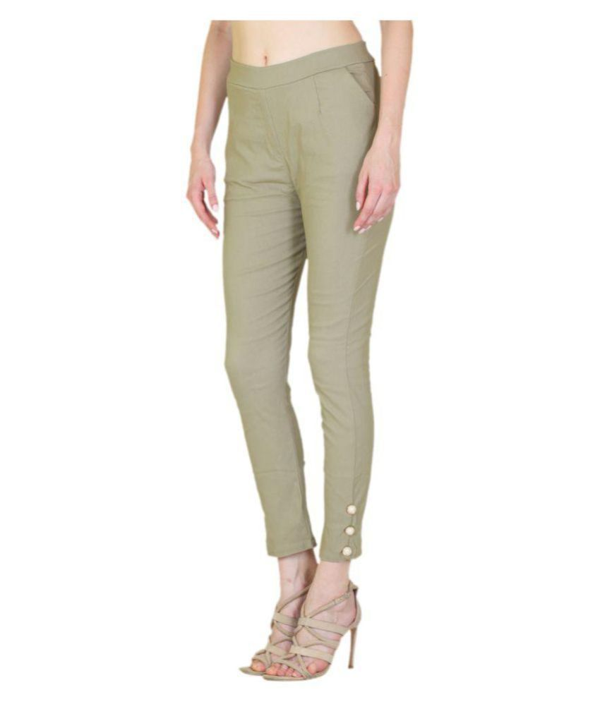 30f89d42613 Buy MSM Cotton Cigarette Pants Online at Best Prices in India - Snapdeal