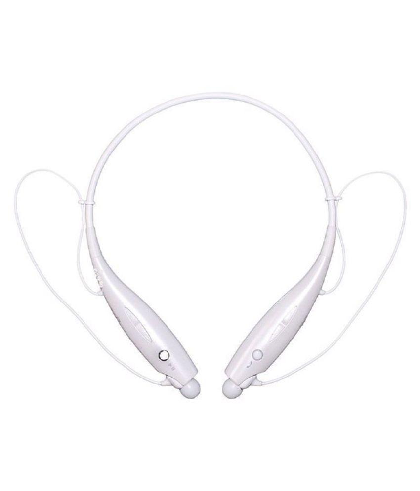 Akira Signature A107 Wireless Bluetooth Headphone White