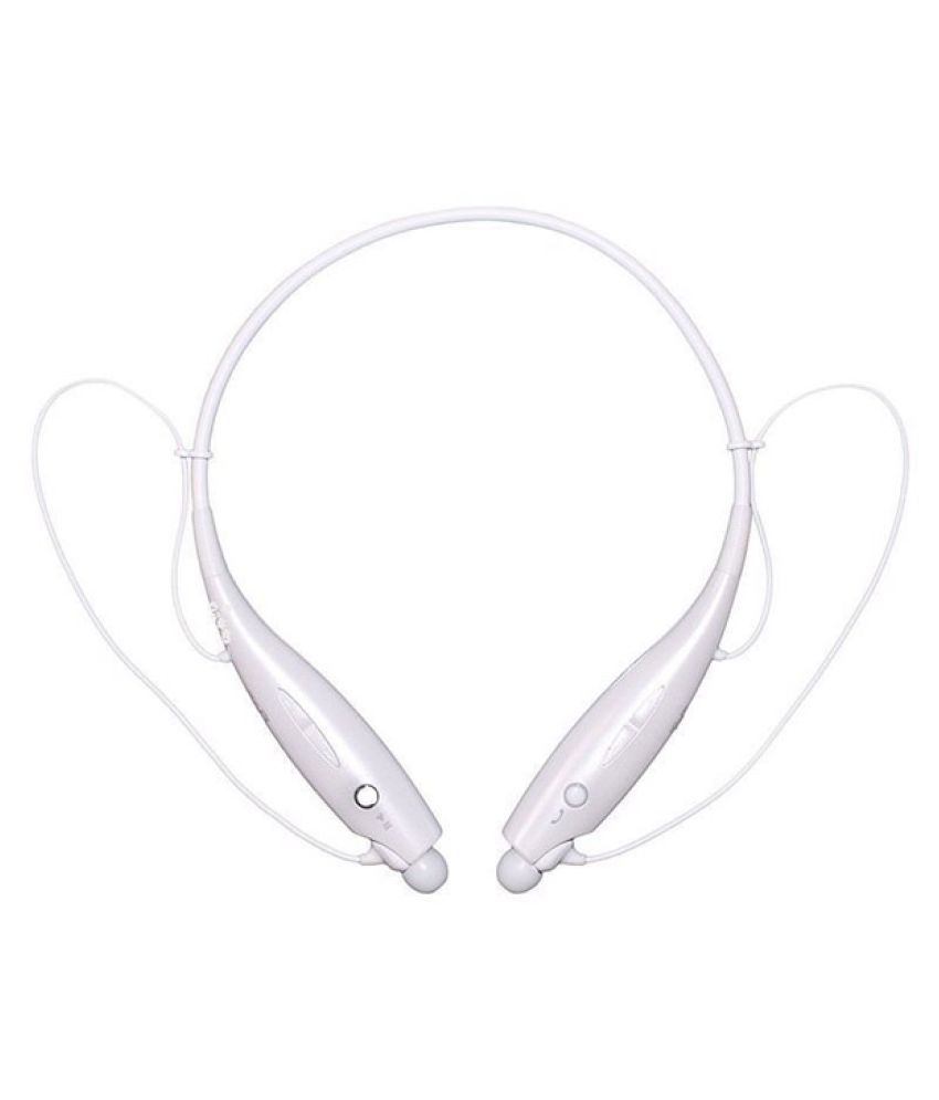 Estar Wireless Bluetooth Headphone White
