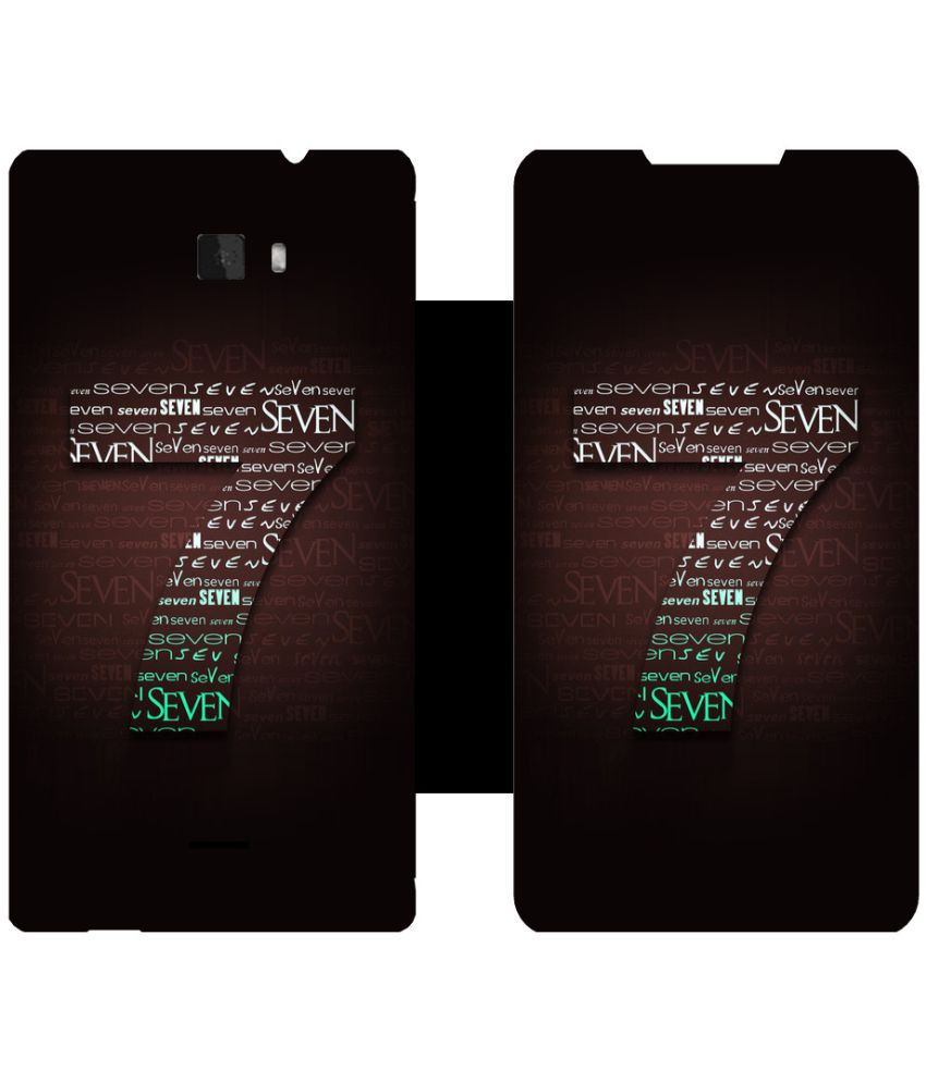 Coolpad Dazen1 Flip Cover by Skintice - Brown