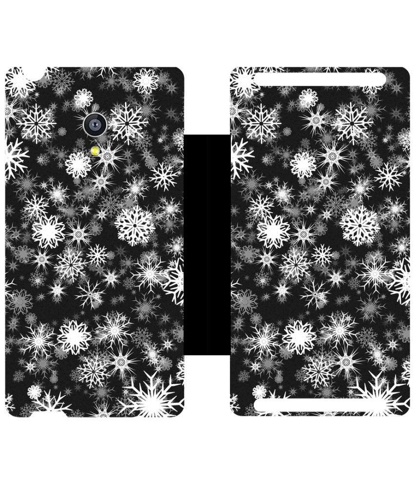 Universal Flip Cover by Skintice - Black