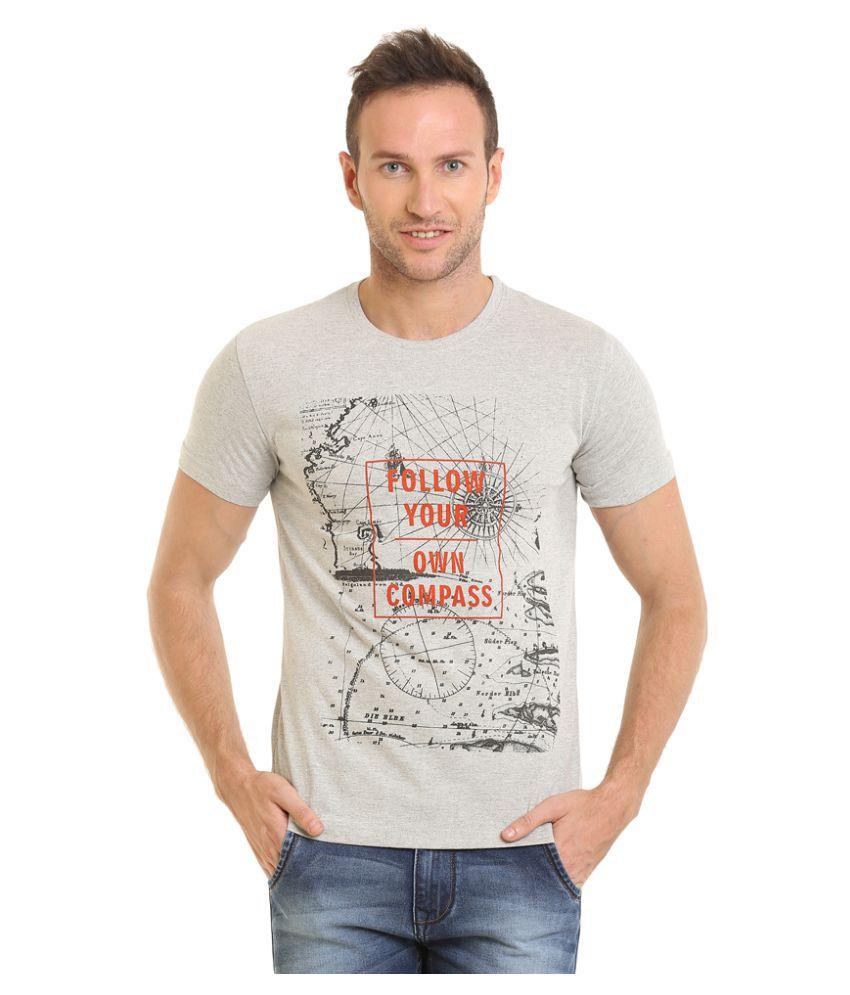 John Adams Grey Round T-Shirt