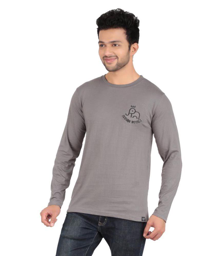 Indian Royals Grey Round T-Shirt