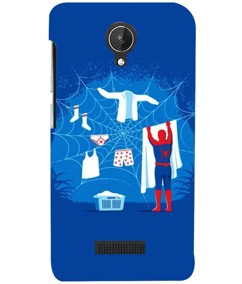 Micromax Canvas Spark Cover Combo by MENTAL MIND