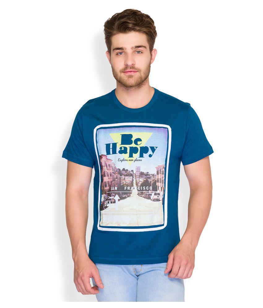 Parx Blue Round T-Shirt