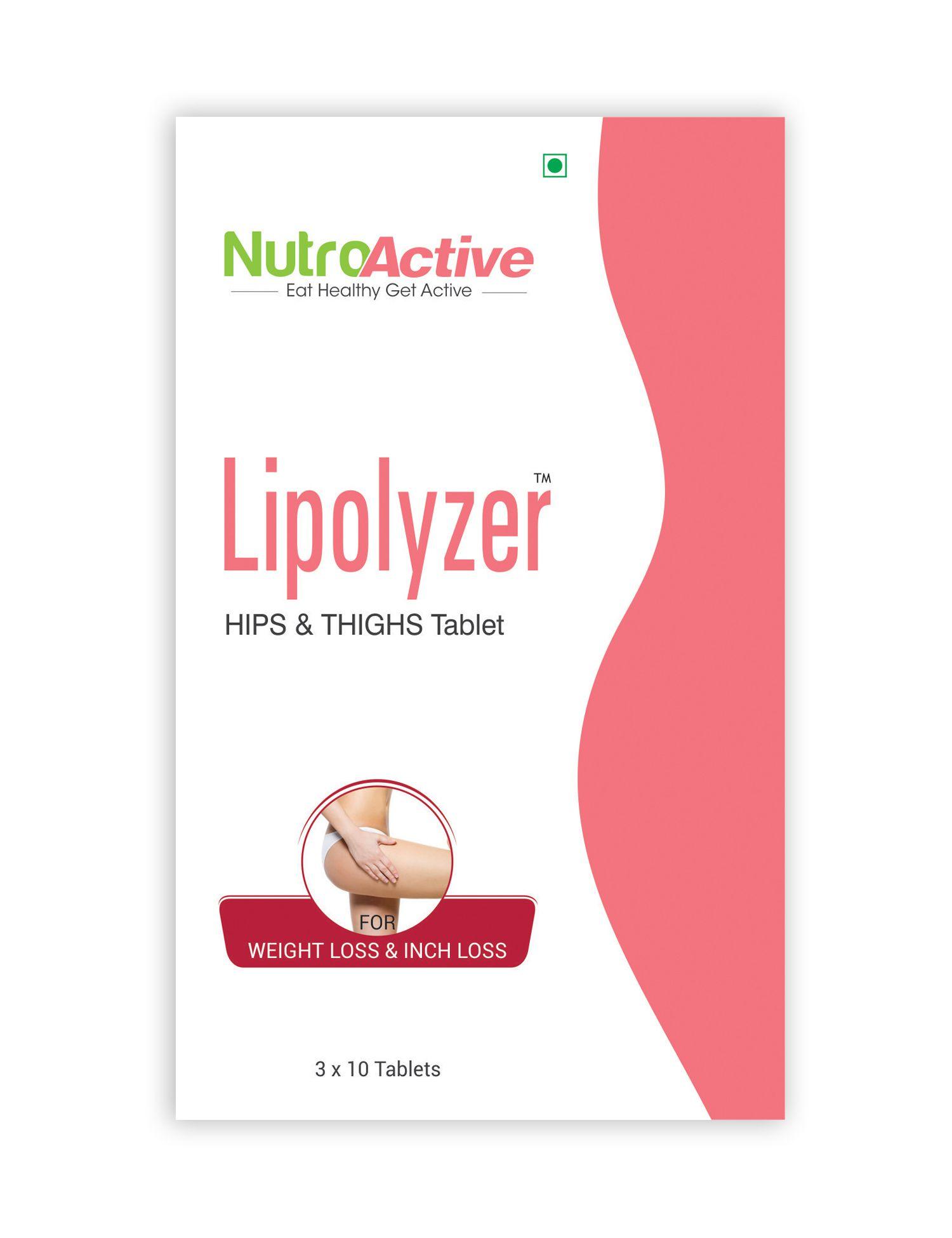 Nutroactive Lipolyzer Hips & Thighs 30 Tablets Plus 30