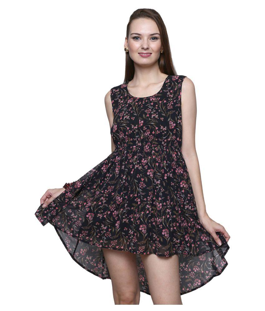 Trendsnu Georgette Dresses