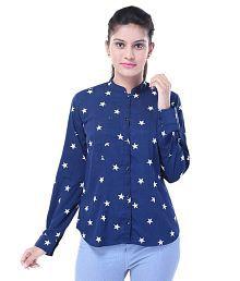 Saarvi Fashion Poly Crepe Shirt