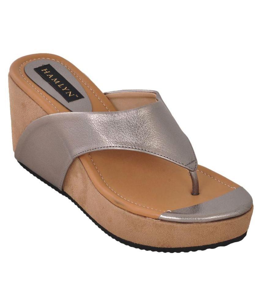 Hamlyn Shoes Silver Heels