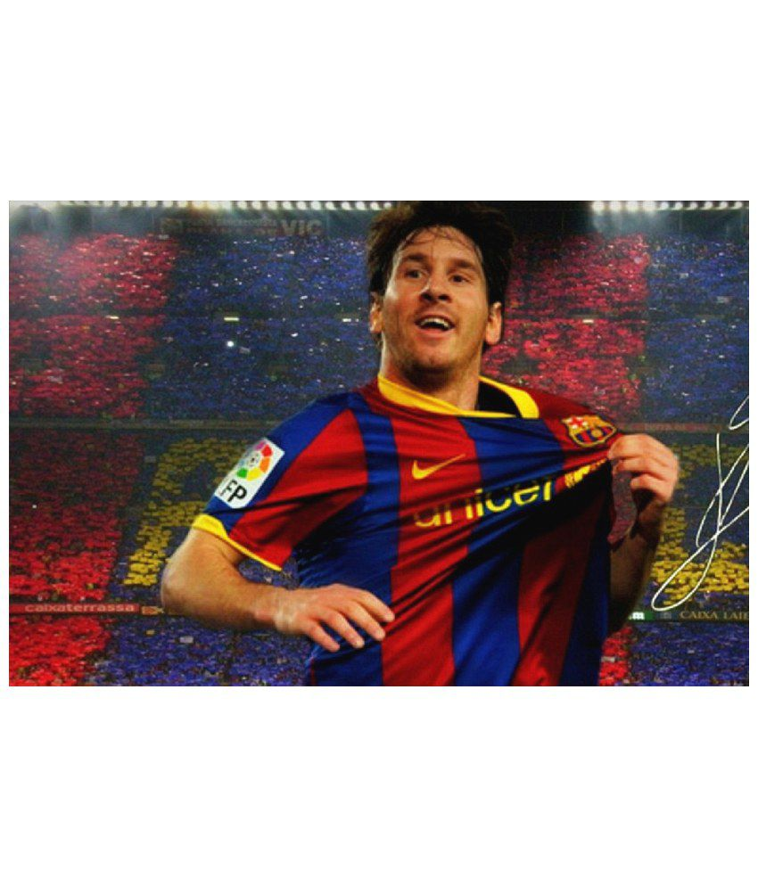 5e203e48f7f Zap Zap Messi Paper Photo Wall Poster Without Frame Single Piece: Buy Zap  Zap Messi Paper Photo Wall Poster Without Frame Single Piece at Best Price  in ...