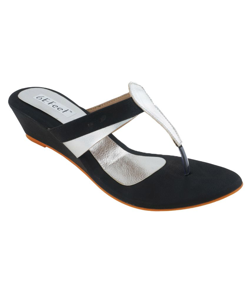 6Efeet Silver Heels