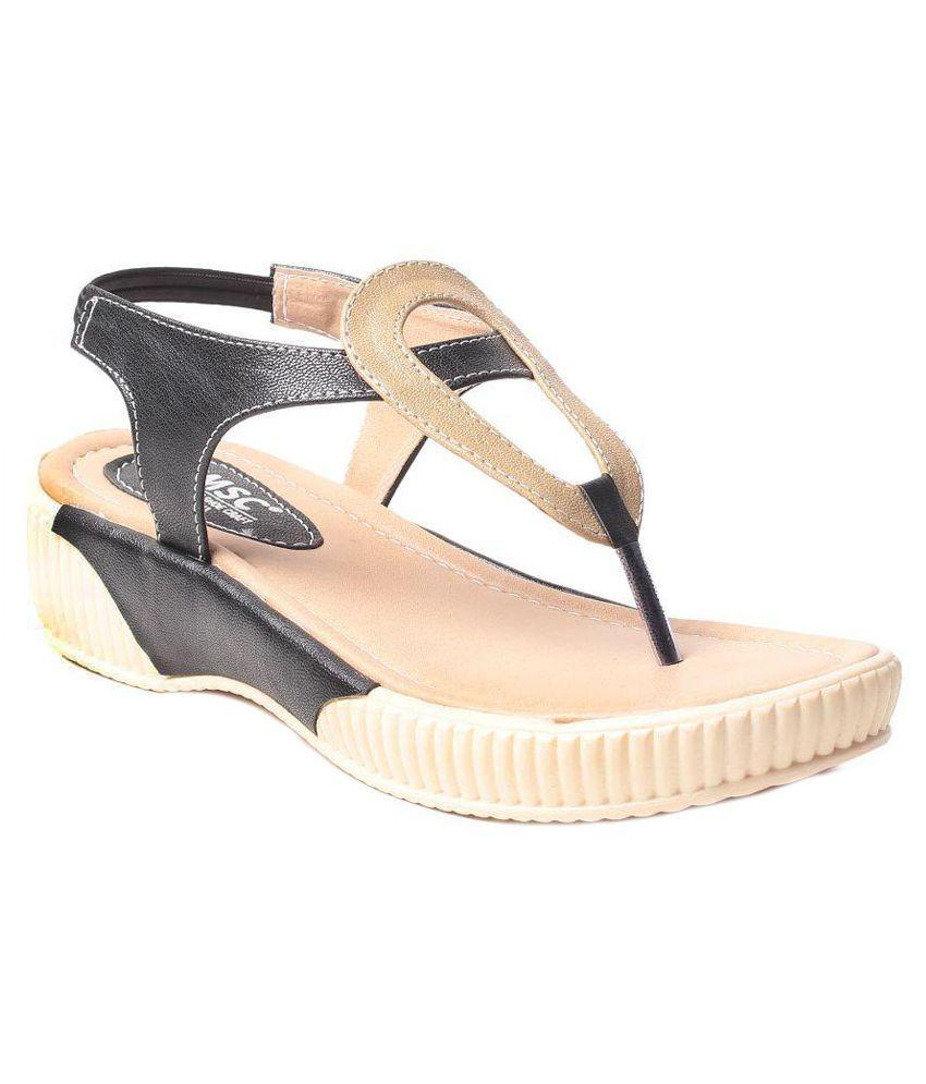MSC Black Flip Flops