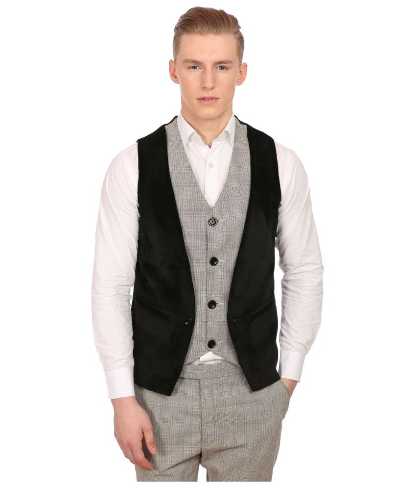 Wintage Multi Checks Party Waistcoats