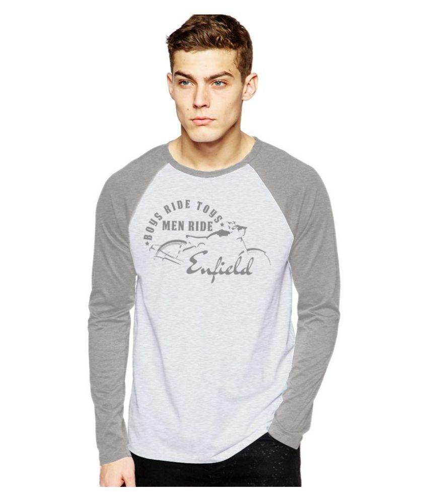 Royal Nesher Grey Round T-Shirt