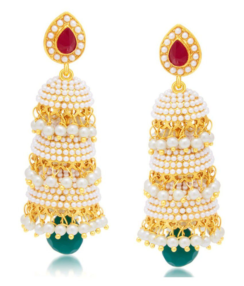 Sukkhi Glamorous Gold Plated Earring For Women
