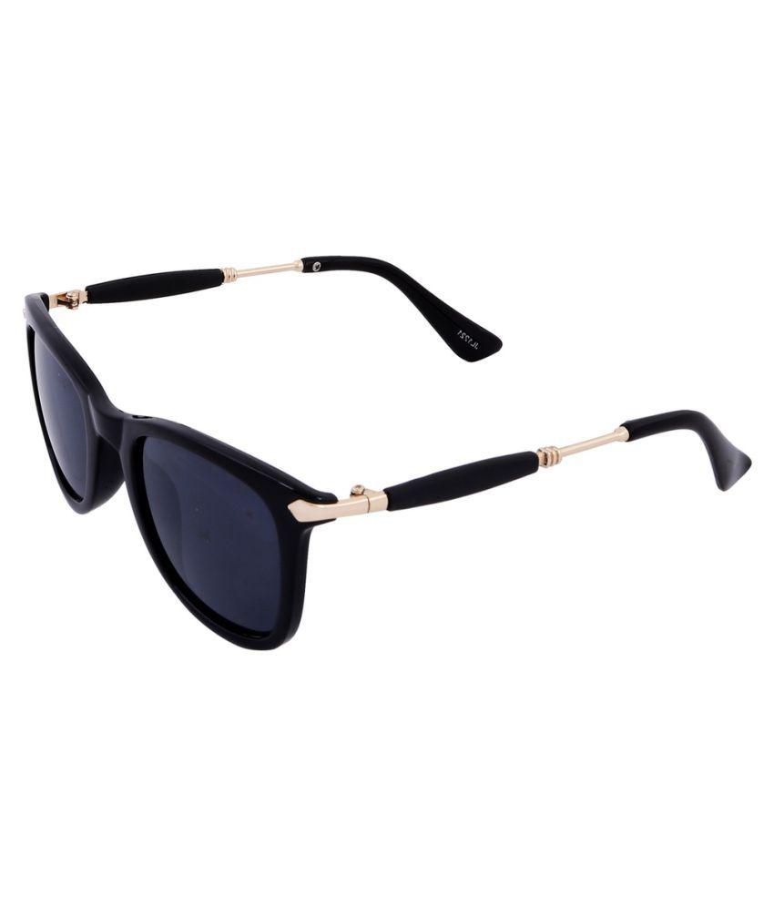 McClub Purple Wayfarer Sunglasses ( SH1087 )