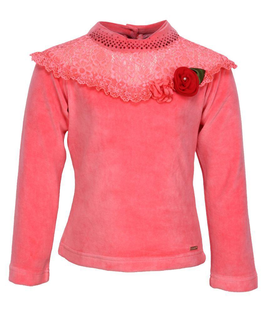 Cutecumber Orange Winter Sweatshirt Top