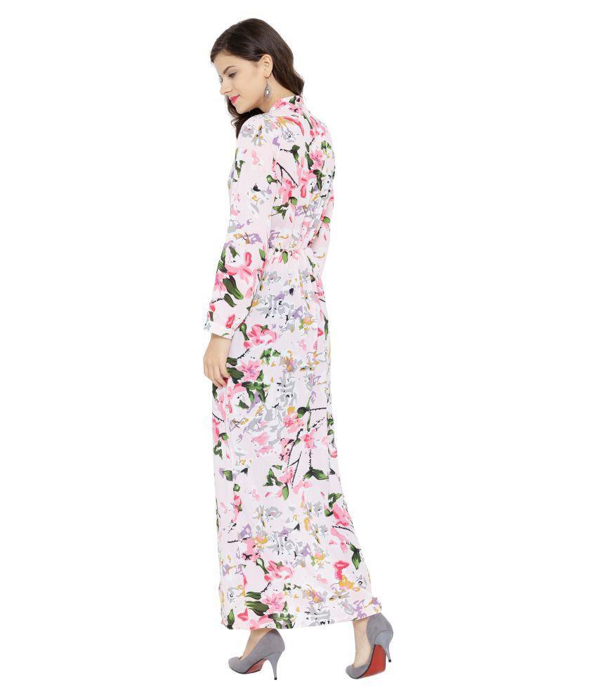 0ba1ab93b32 SASSAFRAS Pink Floral Maxi Top - Buy SASSAFRAS Pink Floral Maxi Top ...