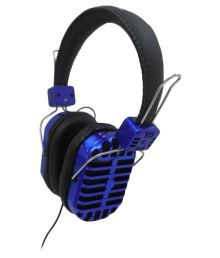 Digital Essentials On Ear Wired Headphones Without Mic Black