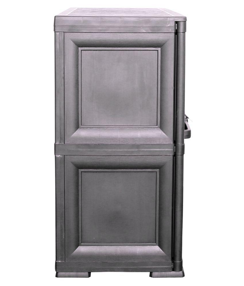 Cello Infiniti Medium Storage Cabinet Plain-Grey - Buy Cello ...