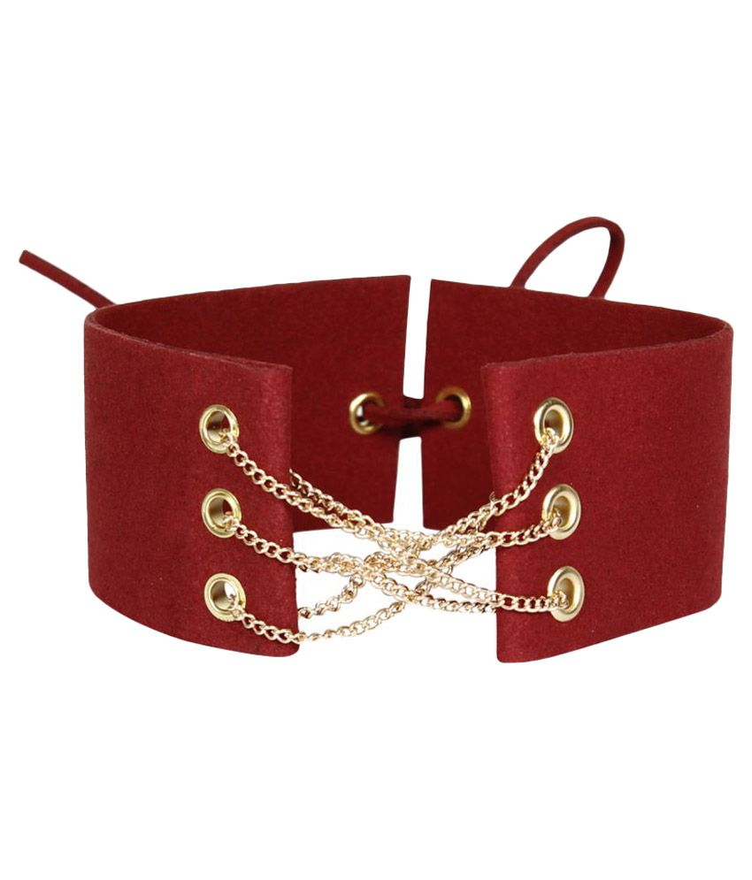 Bellofox Red Leather Necklace