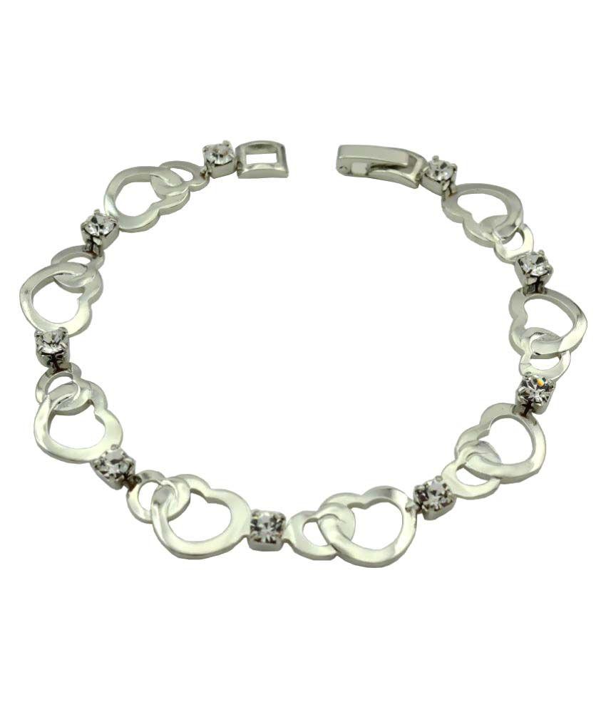 High Trendz Silver Bracelet
