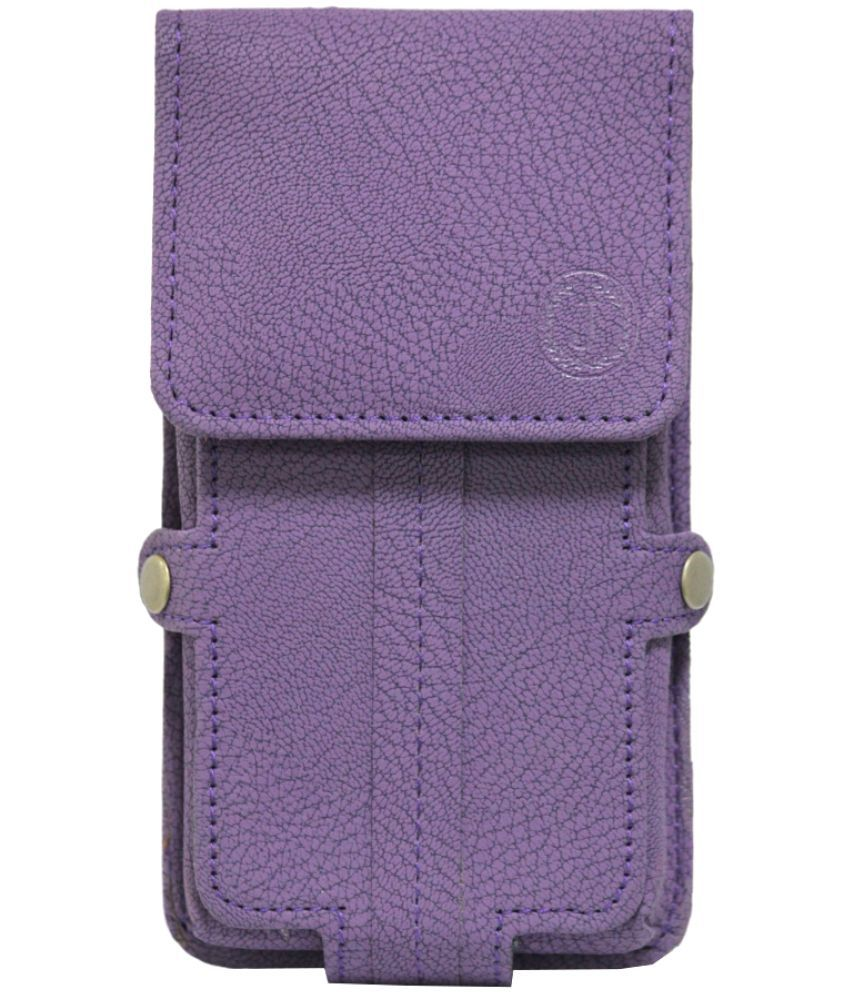 Huawei Honor 5X Holster Cover by Jojo - Purple