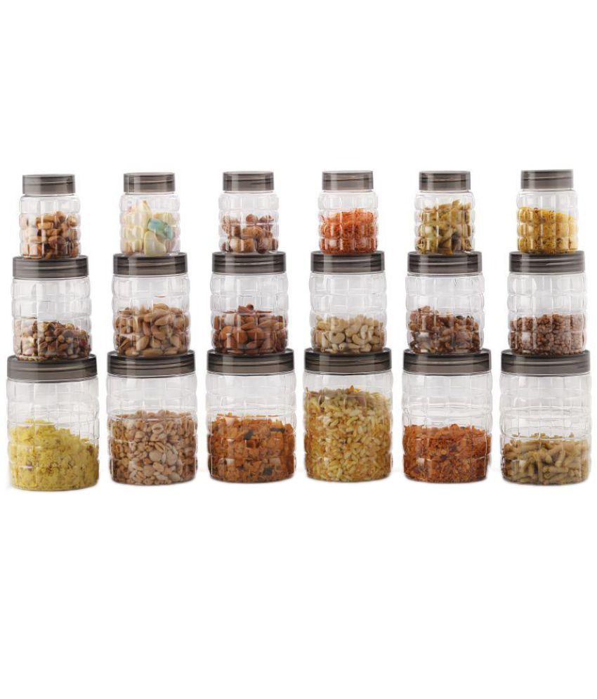 kitchen containers india creepingthyme info cello pet food container set of 18 online at best price in