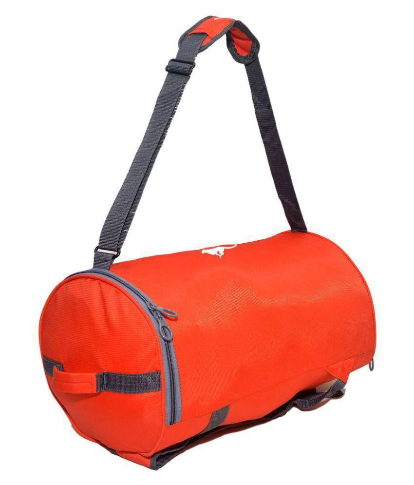 Gene Red Gym Bag