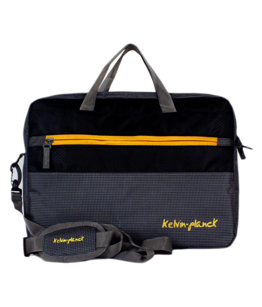 Kelvin Planck Black Laptop Sleeves