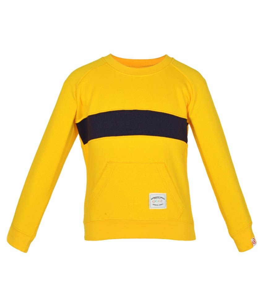 Gkidz Yellow Sweatshirt for Girl