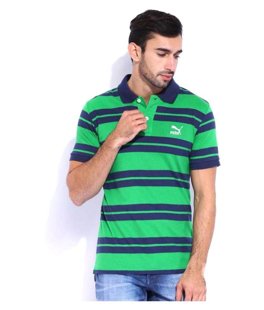 Puma Multi Regular Fit Polo T Shirt