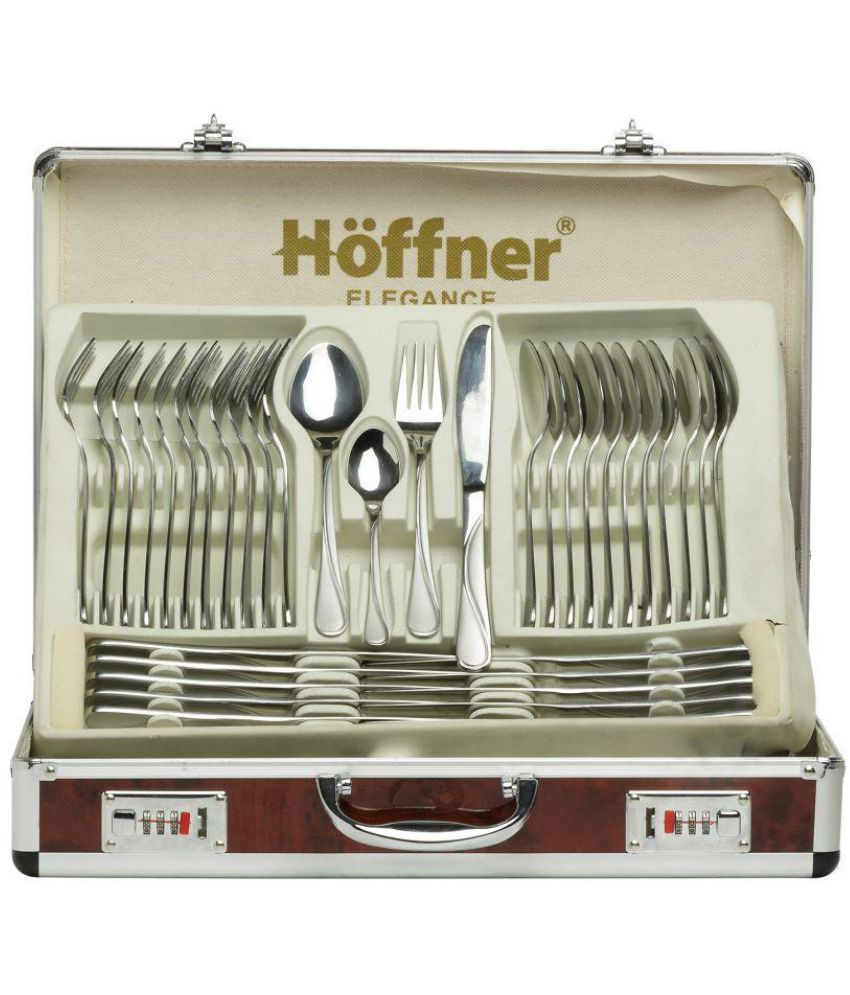 Hoffner 72 Pieces Stainless Steel Cutlery Set Gift Box: Buy Online ... | {Höffner online shop 39}