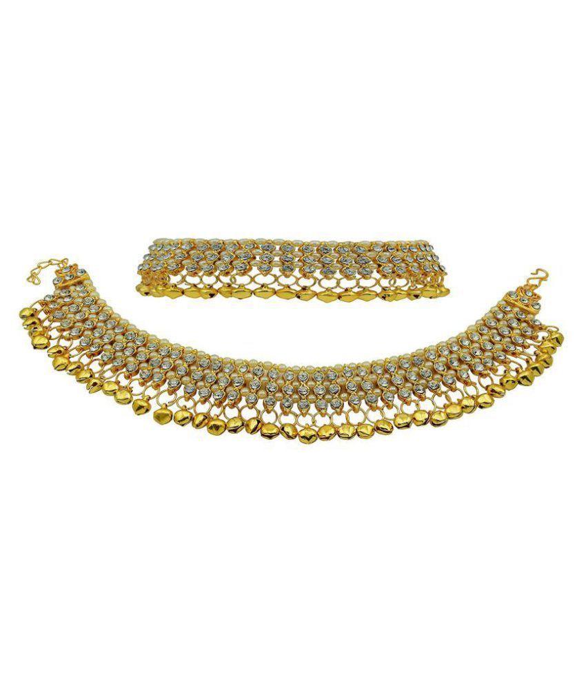 Penny Jewels Golden Anklets