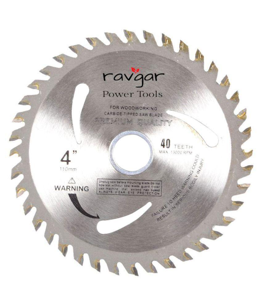 ravgar tct wood cutting blade 4 inch x 40 t buy ravgar tct wood rh snapdeal com