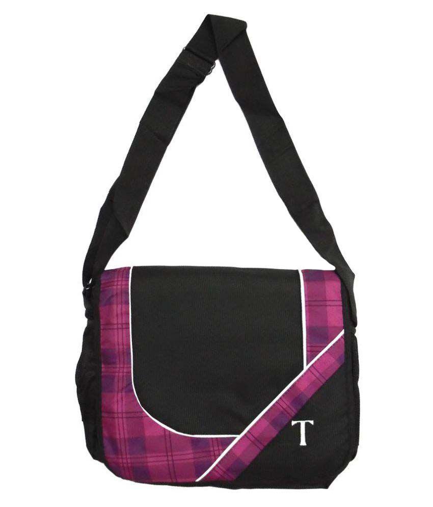 Treasure Multi Color Polyester Casual Messenger Bag